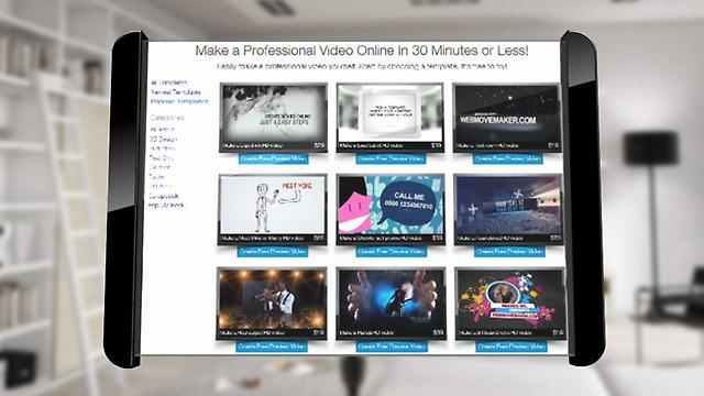 App promo website template uk