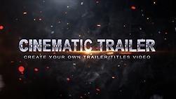 trailer template to make a blockbuster movie title or trailer. Black Bedroom Furniture Sets. Home Design Ideas
