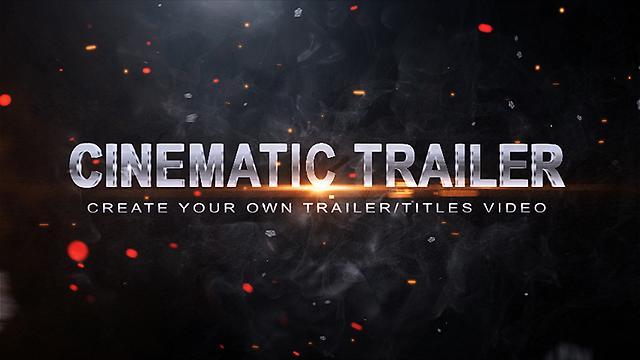 Erstellen Sie ein Video mit Film-Trailer-Vorlage