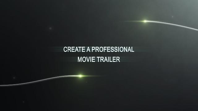 Video Trailer Maker | Create Your Own Movie Trailer Online